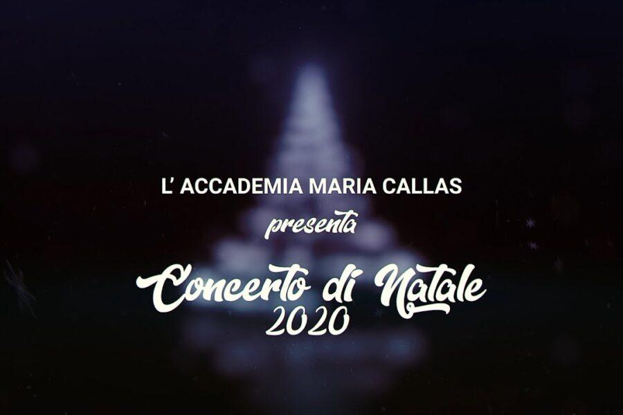 Concerto di Natale 2020 degli allievi dell'accademia
